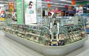 百货区域道具-手机精品柜