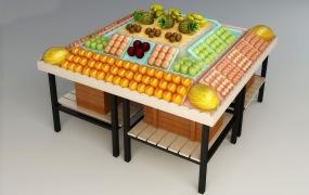 生鲜区域道具-水果台