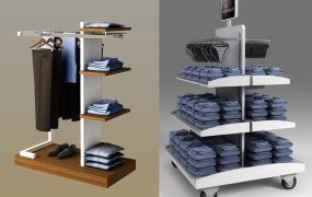服饰区域道具