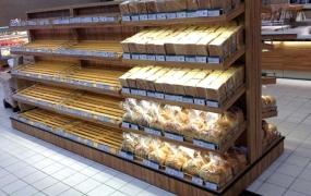 烘焙区域道具-新式中岛面包架